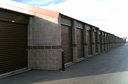 Aurora co self storage unit
