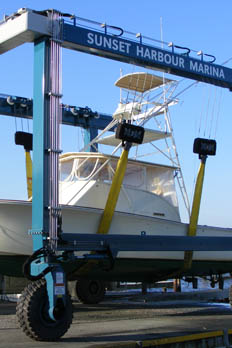 Aquamarina Sunset Harbour offers a variety of services at their East Patchogue boat yard