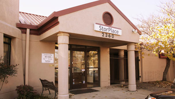 Entrance StorPlace Self Storage