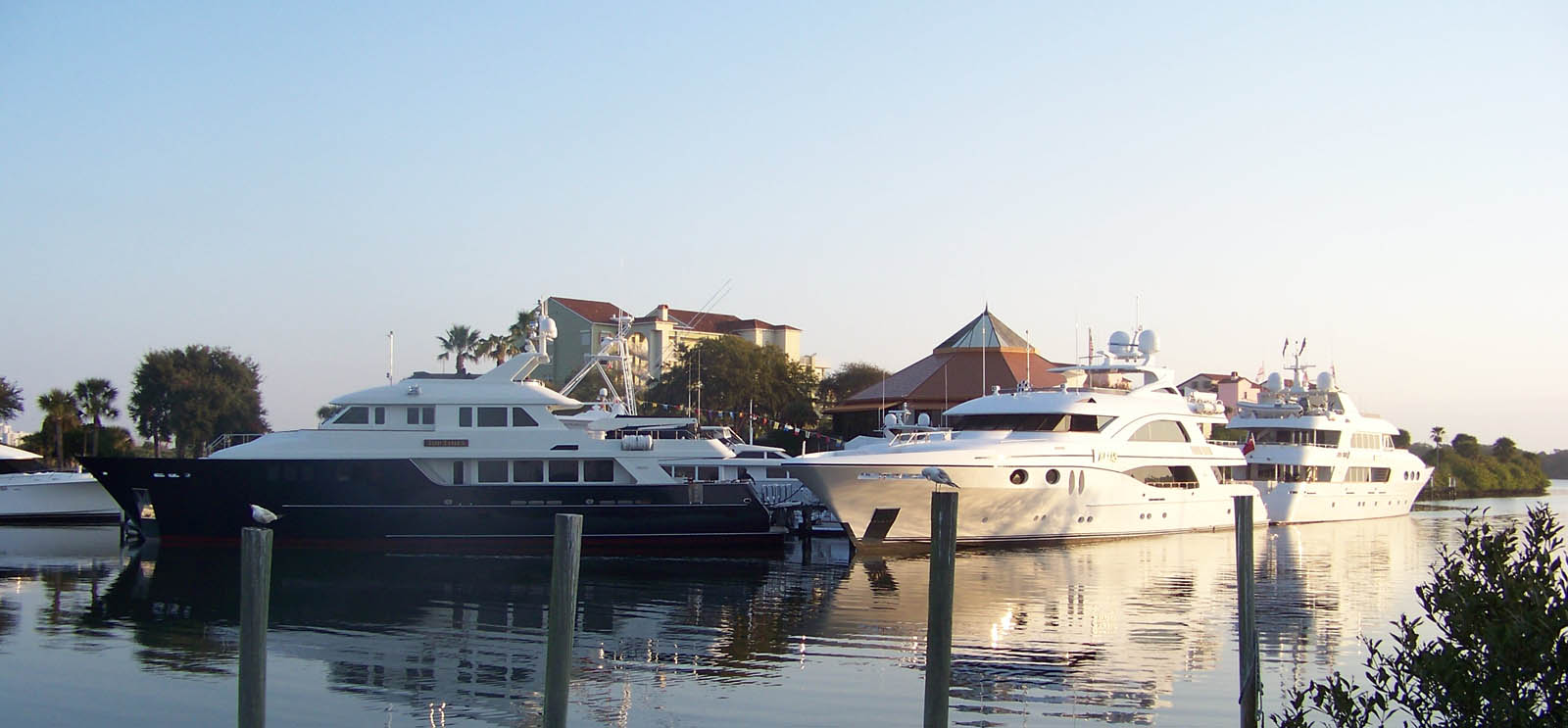 Daytona Beach marina in Florida