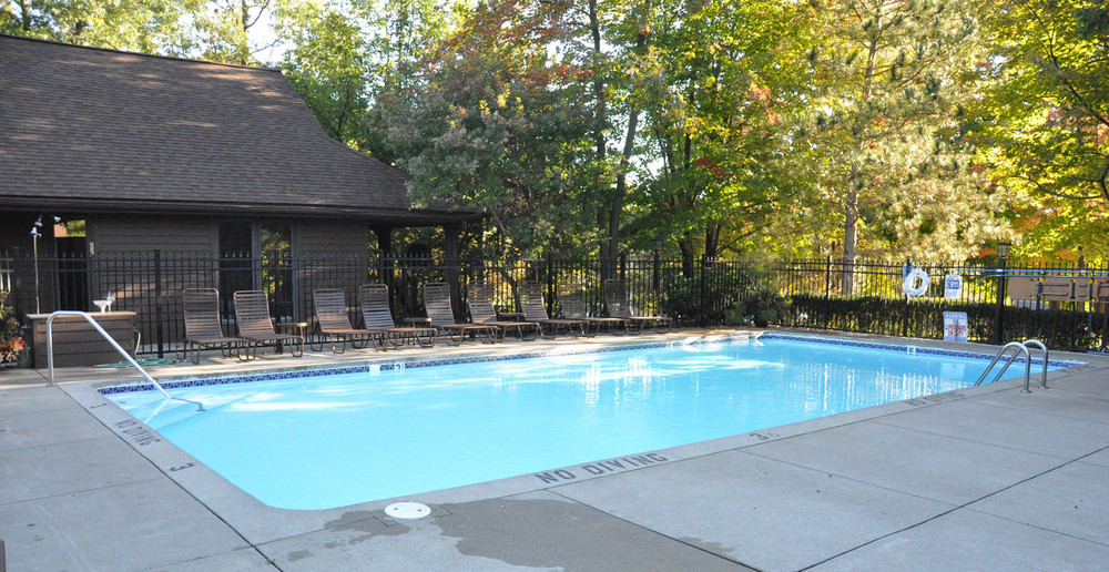 Cool off in Wyoming MI apartments swimming pool