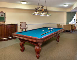 Herndon pool table