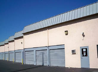 Livermore self storage exterior