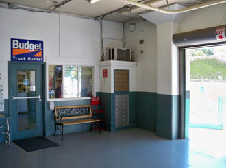 Sacramento self storage interior