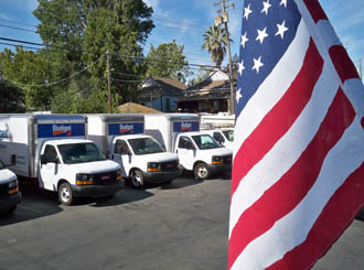 Sacramento self storage moving trucks