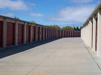 Hayward self storage units