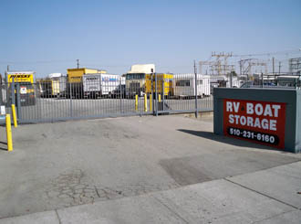 Richmond ca rv boat storage