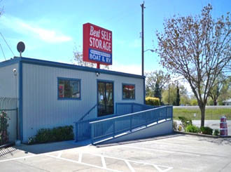 Oroville self storage facility