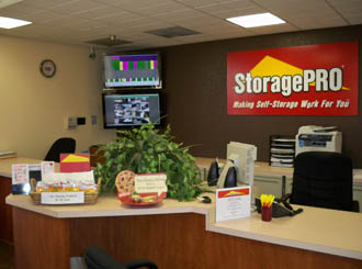 Lathrop ca self storage office