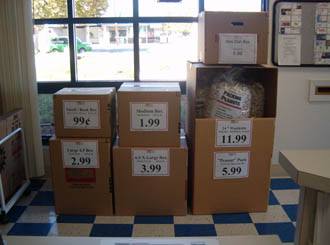 Antioch storage packing supplies