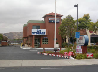 Milpitas ca self storage facility