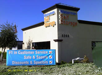 Elk grove self storage facility