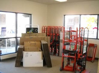 Elk grove self storage packing supplies
