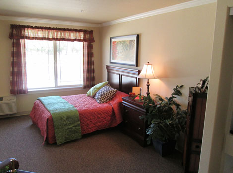 Memory care redland bedroom