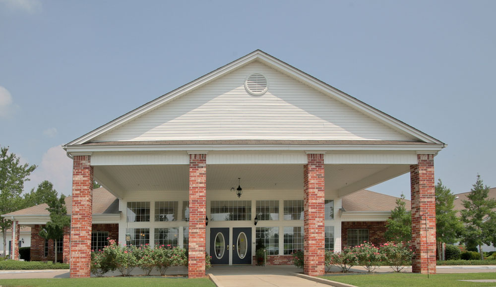 Assisted living front entrance in Florence