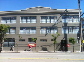 Self storage san francisco exterior