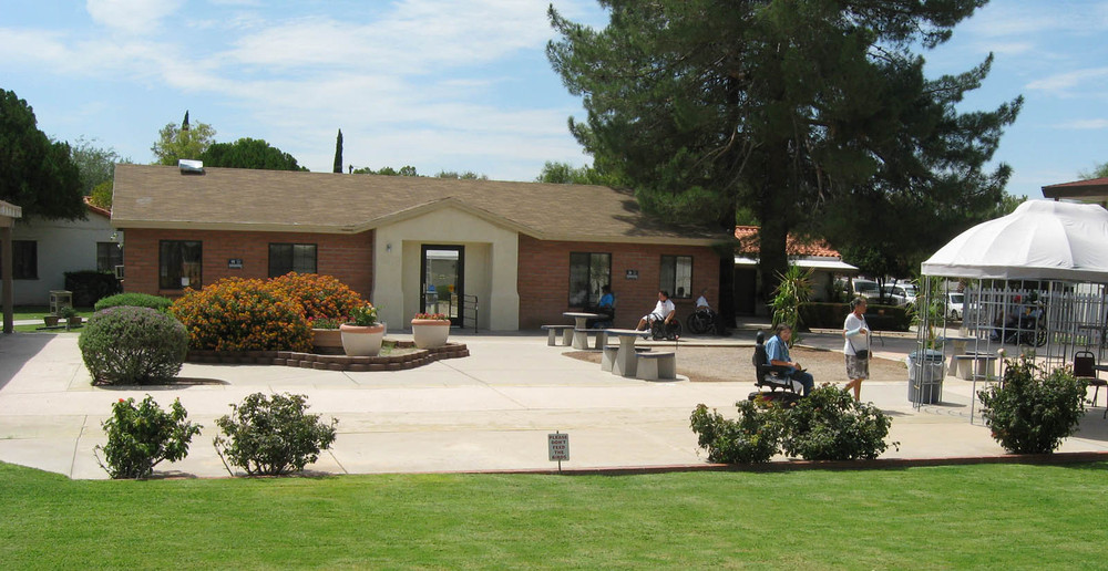 Exterior of senior and disabled living in Tucson