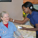 Thumb-check-up-at-senior-living-in-mesa