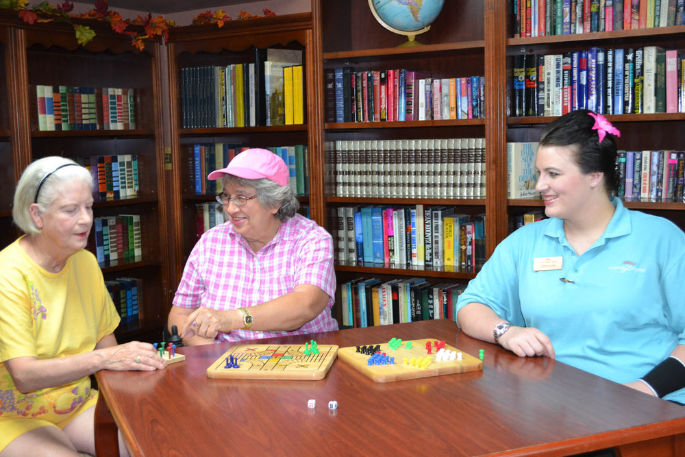 Games at senior living in Mesa