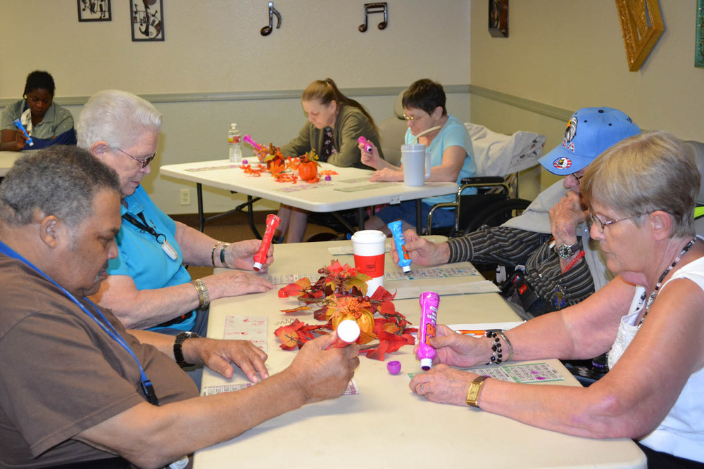 Mesa senior living arts and crafts