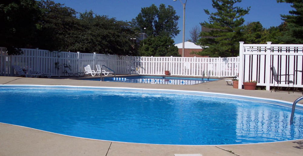 Refreshing pool at Bloomington IL apartment homes