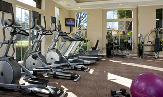 Apartments in Riverside have a safe and Secure workout room