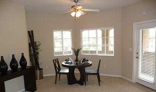 Large dining room for entertaining