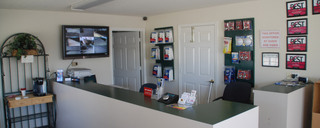 Front office at self storage in Waco,TX