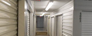 Interior self storage units in Waco,TX
