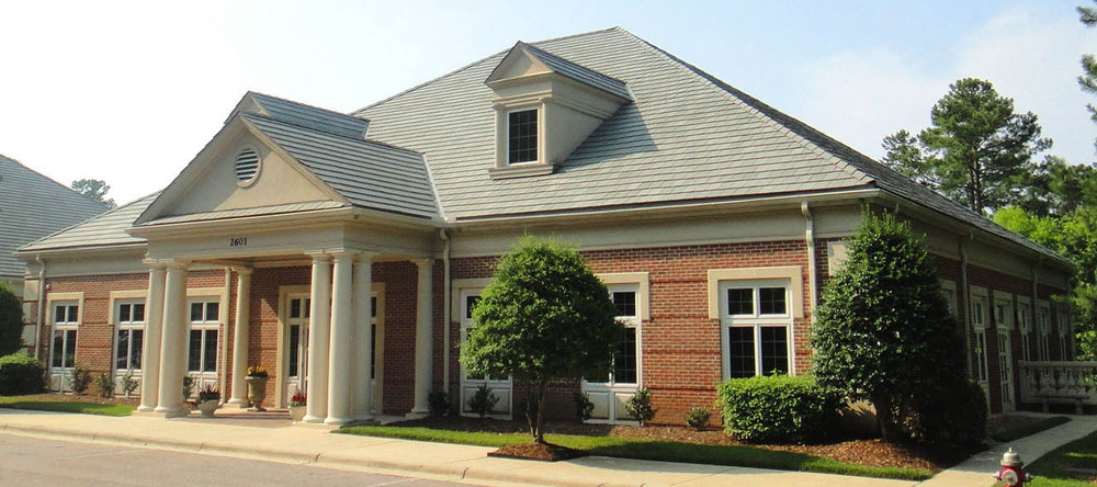 Cary commercial property exterior