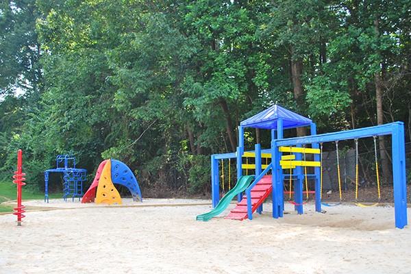 Large playground area