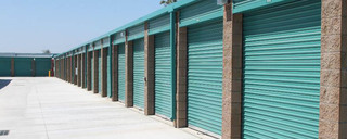 Outdoor self storage units in Ramona