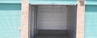 Ramona self storage units interior