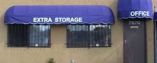 Office entrance to Burbank self storage