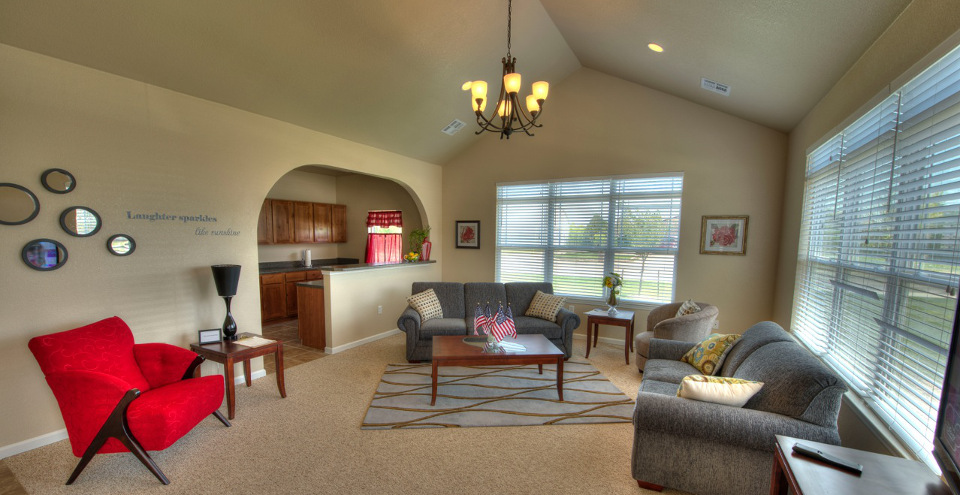 Spacious design of Burkburnett apartments