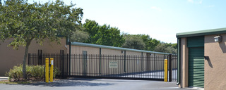 Secure gated access to self storage