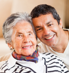 Care options at senior living in Adobe House