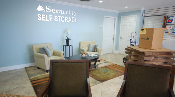 Mindful storage lobby