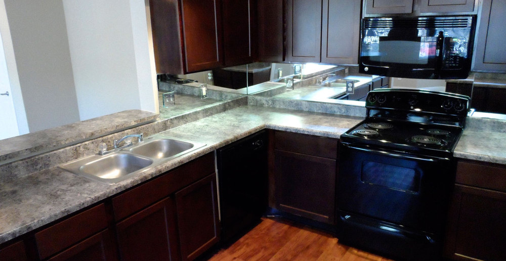 Granite counter tops houston apartments