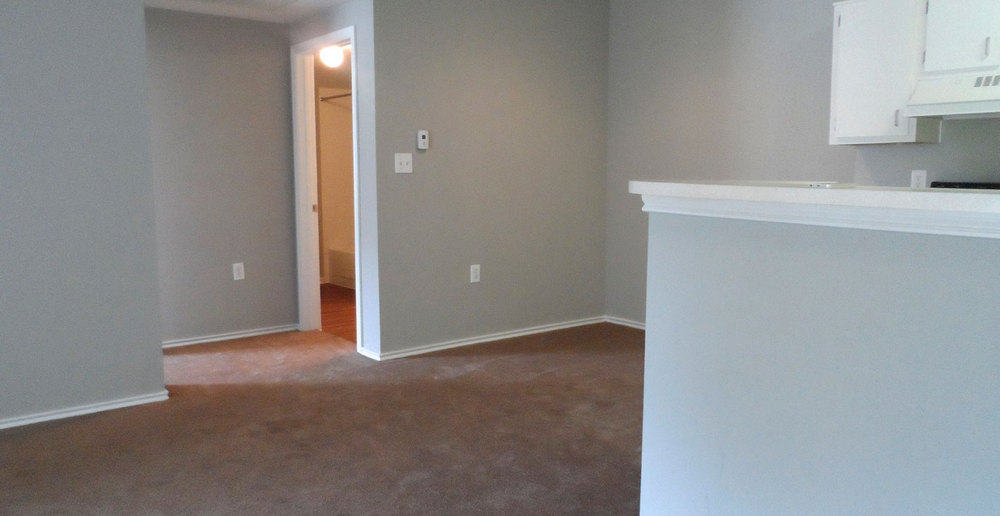Interior of Killeen apartments