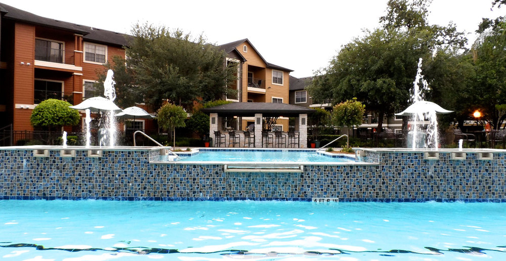 Cypress apartments swimming pool