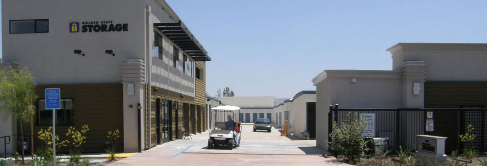 Self storage santa fe springs exterior