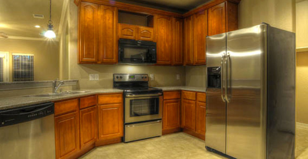 San Antonio apartments with stainless steel appliances
