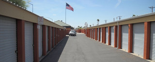 Mesa self storage drive up units