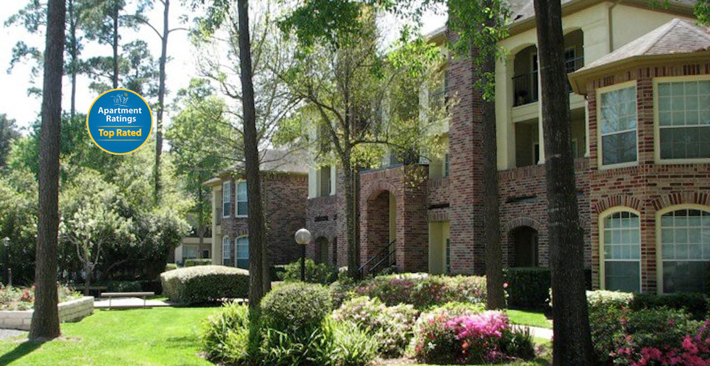 Beautiful landscaping apartments houston