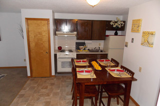 Large kitchen at salem apartments