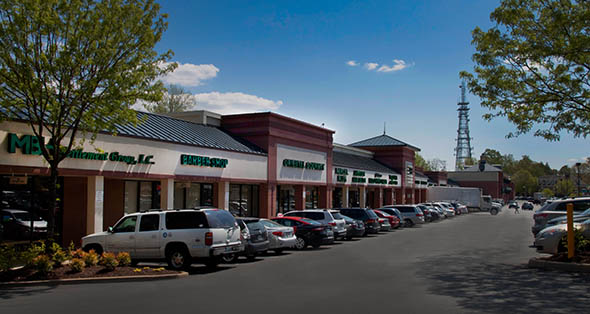 Construction documents for Lee Harrison Shopping Center in Arlington