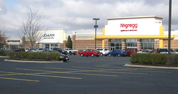 Lease plan at Champaign Town Center