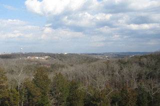 View from branson luxury apartments