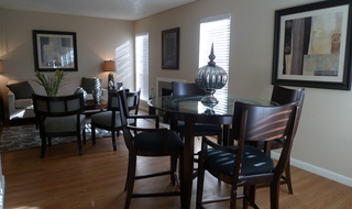 Apartments in Amarillo dining room
